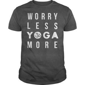 Worry Less Yoga More T-Shirt